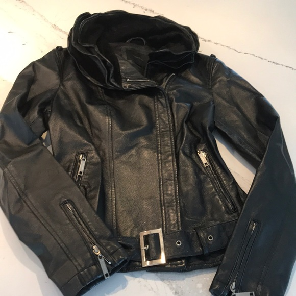 13cad54c15c99b Vero Moda Jackets & Coats | Genuine Leather Jacket | Poshmark